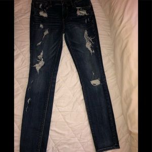 Express Distressed Jean Jeggings
